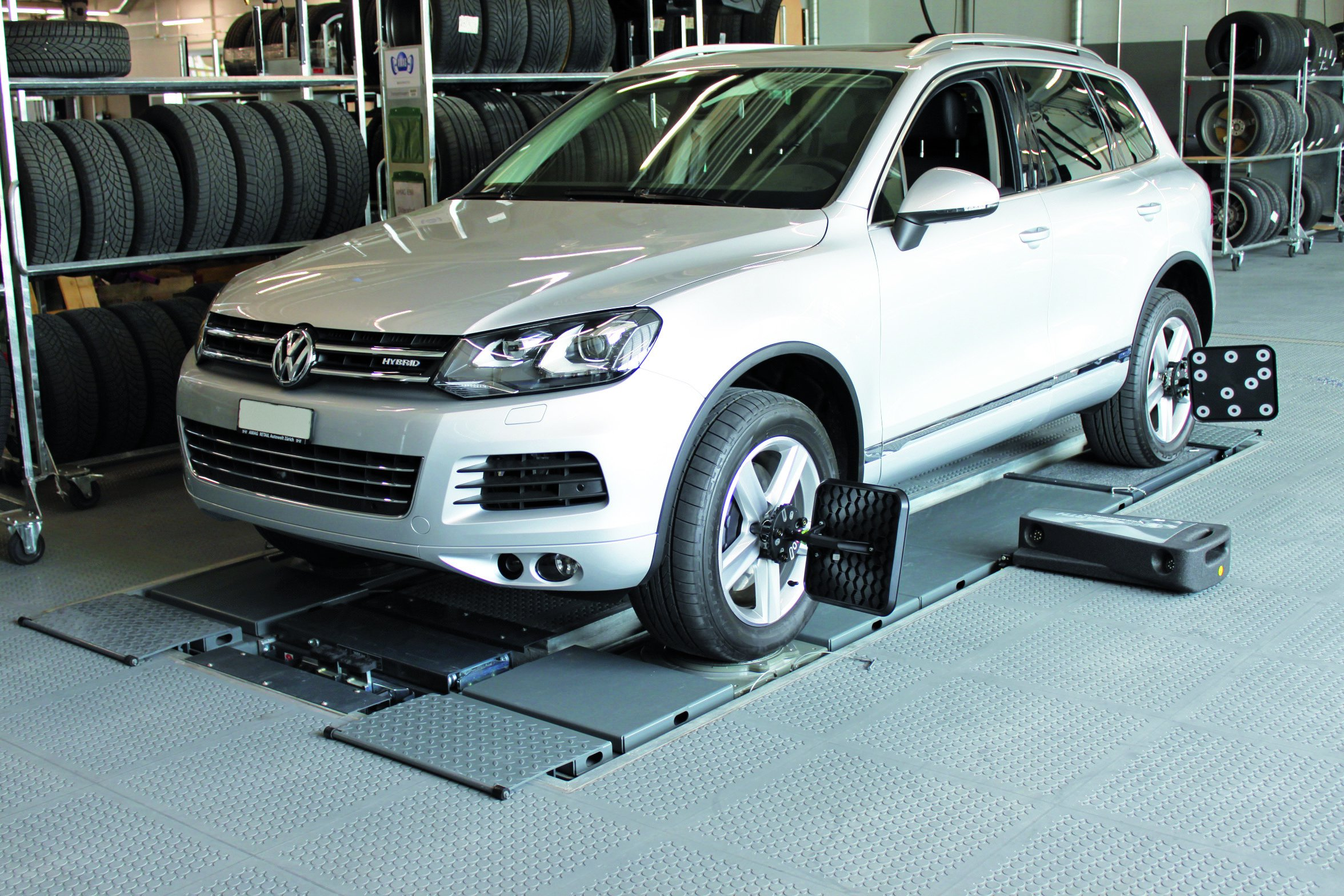 Automotive Wheel Alignment Scissor Lift - DUO CM 4 (8)